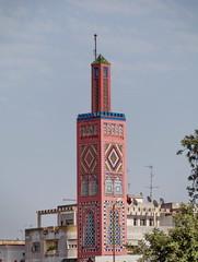 Minaret, Tanger, Maroc.