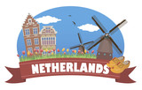 Fototapety Netherlands. Tourism and travel