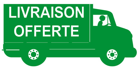 camion vert livraison offerte