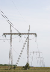 Power grid of electrical energy