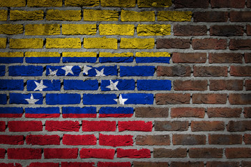 Dark brick wall - Venezuela