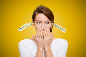 Corruption. Bribery money will keep me quiet