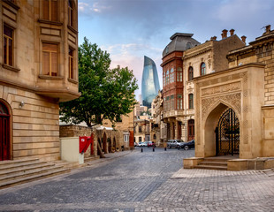 Icheri Sheher (Old Town) of Baku, Azerbaijan