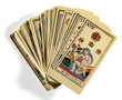 Fanned Out Italian Tarot Cards - 70240161