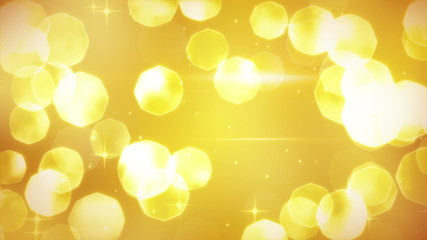golden glitters festive loopable background