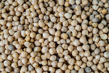 dryes organic chickpeas