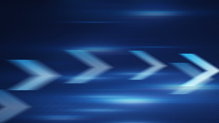 blue arrows fast motion loopable background