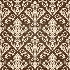 Seamless Damask Wallpaper III