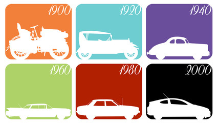 The evolution of the car