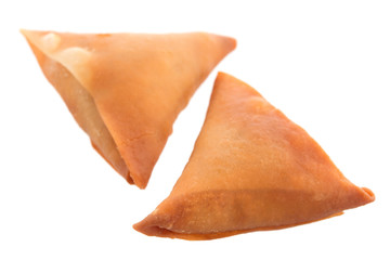 Samosa isolated