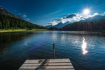 lago di Staz St Moritz