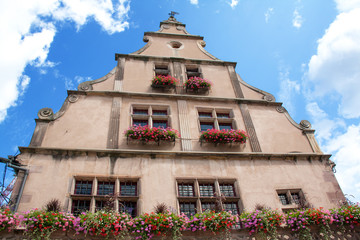 La Metzig, batiment 16ème siècle, Molsheim, Bas Rhin, Alsace