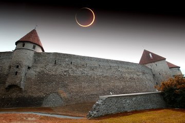 solar eclipse in Tallinn