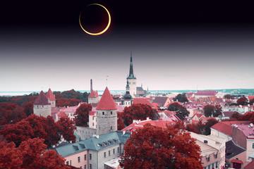 solar eclipse in Tallinn