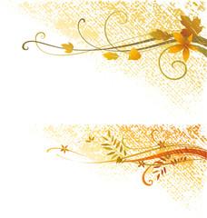 Autumn Grunge Scrolls