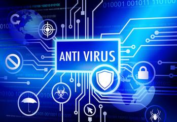 Antivirus Concept