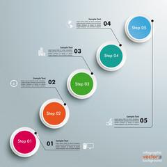Circles Chart 5 Steps