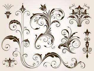 Elegant Floral Ornament