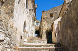 Alleyway. Rocca Imperiale. Calabria. Italy. poster