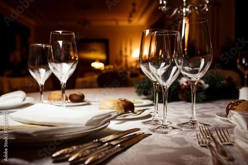 Table setting for celebration - 70247702