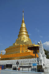 Buddha relics , wat phra that chae haeng