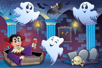 Haunted castle interior theme 7