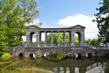 2.Мраморный мост в Царском Селе Санкт-Петербург