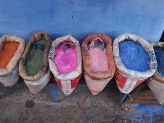モロッコ 青い街