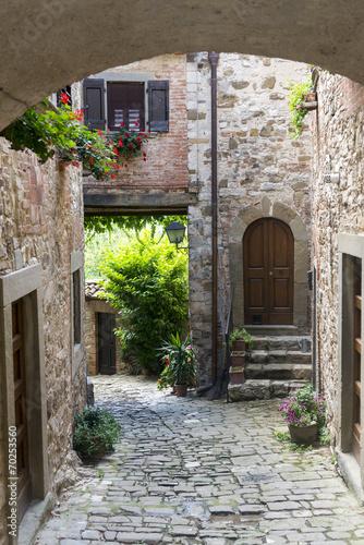 Obraz Montefioralle (Chianti, Tuscany)