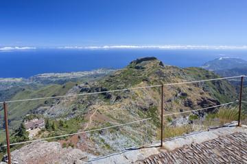 Wandern auf Madeira, Blick auf die Nordküste