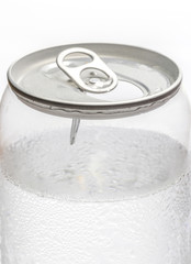 Cold Soda water Transparent Can