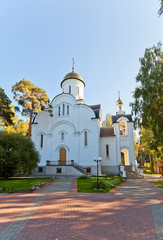 Resurrection church in Bykovo, Moscow region, Russia