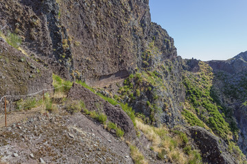 Wandern auf Madeira, Weg zum Pico Arieiro