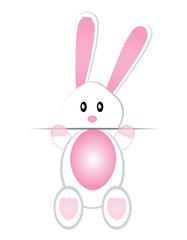 cute bunny card