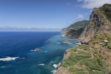 Nordküste von Madeira, Portugal