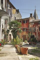 Rue du village de Buje