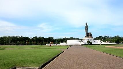 Big Buddha statue image at Phutthamonthon in Nakhon Pathom
