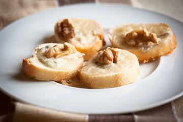 Crostini, italian style appetizers