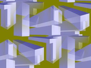 Abstract Structure Organization.Illust ration Background.