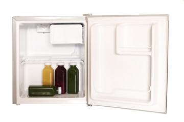 Minikühlschrank befüllt