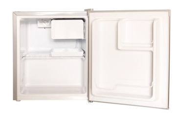 Minikühlschrank offen