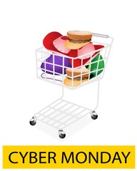 Hats and Helmet in Cyber Monday Shopping Cart