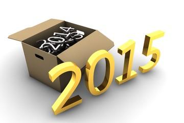 Uitpakken in 2015 - verhuis doos met herinneringen