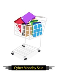 Office Folder in Cyber Monday Shopping Cart