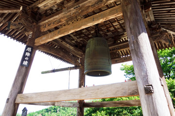 Bell house in Temple / JAPAN