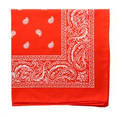 Scarlet bandanna