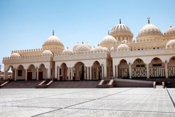 Exterior of El Mina Masjid Mosque in Hurghada