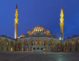 Suleymaniye mosque in Istanbul.