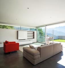Interior design, modern apartment