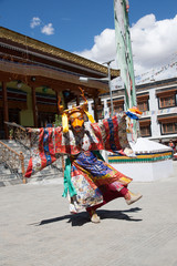 Dancing in Leh